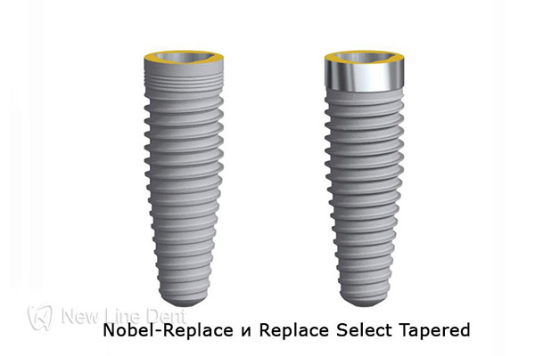 nobel biocare Replace и Replace Select